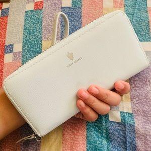 Baby Blue Wristlet Wallet